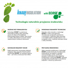 Wełna mineralna skalna Petralana Petralight lambda 035 12cm