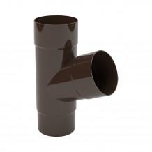 Łapacz deszczówki o średnicy 110mm kolor brąz firmy Bryza