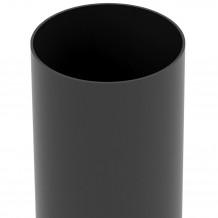 Plastikowa rynna 75 mm Gamrat w kolorze brązowym i długości 3mb