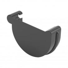 Rynna PVC 125mm 3mb Gamrat kolor ciemny brąz RAL 8019