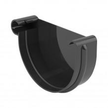 Plastikowa rynna 150 mm Gamrat w kolorze brązowym i długości 3mb