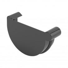 Rynna PVC 150mm 3mb Gamrat kolor ciemny brąz RAL 8019