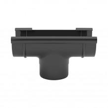 Rynna PVC 150mm 4mb Gamrat kolor ciemny brąz RAL 8019