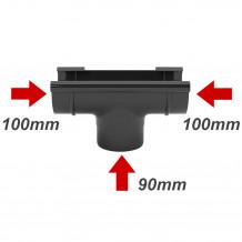 Rura PVC 63mm 3mb Gamrat kolor ciemny brąz RAL 8019 Rynna 75