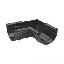 Plastikowa rura 90 mm Gamrat w kolorze brązowym i długości 4mb do rynny 100mm i 125mm