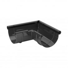 Złączka rynnowa 100mm Rynna PVC Gamrat kolor ciemny brąz RAL 8019