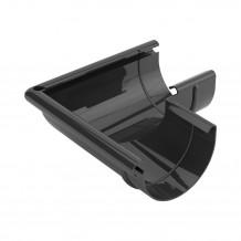 Lej spustowy 75/63 rynna PVC Gamrat kolor ciemny brąz RAL 8019