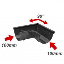 Lej spustowy 100/63 rynna PVC Gamrat kolor ciemny brąz RAL 8019