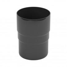 Lej spustowy 125/90 rynna PVC Gamrat kolor ciemny brąz RAL 8019