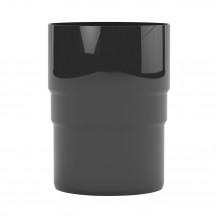 Lej spustowy 125/110 rynna PVC Gamrat kolor ciemny brąz RAL 8019