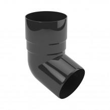 Narożnik wewnętrzny 75mm Rynna PVC Gamrat kolor ciemny brąz RAL 8019