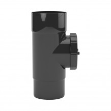 Narożnik zewnętrzny 100mm Rynna PVC Gamrat kolor ciemny brąz RAL 8019