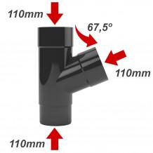 Narożnik zewnętrzny rynny 125mm Gamrat Brąz