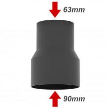 Uchwyt rynnowy 75mm Rynna PVC Gamrat kolor ciemny brąz RAL 8019
