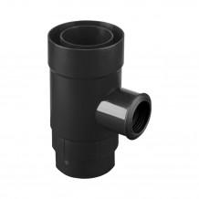 Uchwyt rynnowy 100mm Rynna PVC Gamrat kolor ciemny brąz RAL 8019