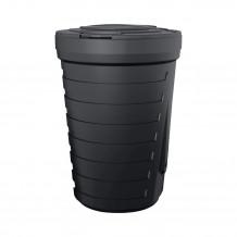 Denko rynnowe prawe 125mm Rynna PVC Gamrat kolor ciemny brąz RAL 8019