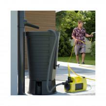 Plastikowa zaślepka prawostronna do rynien 125 w kolorze ciemnobrązowym