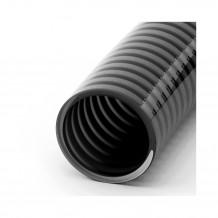 Plastikowa zaślepka prawostronna do rynien 150 w kolorze ciemnobrązowym