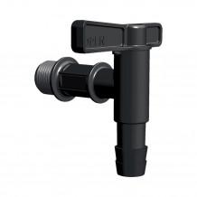 Denko rynnowe lewe 125mm Rynna PVC Gamrat kolor ciemny brąz RAL 8019