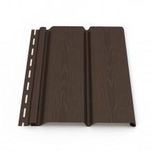Kolano rury spustowej 110mm 67 stopni Rynna 125mm 150mm PVC Gamrat kolor ciemny brąz