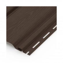 Plastikowe kolanko do łączenia rur 110 w kolorze ciemnobrązowym rynna gamrat 125 150