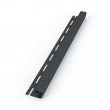 Plastikowa obejma do mocowania rur 90 w kolorze ciemnobrązowym rynna 100 125