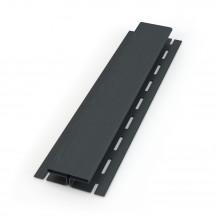 Plastikowa obejma do mocowania rur 110 w kolorze ciemnobrązowym rynna 125 150