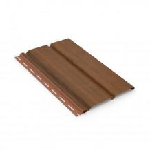 Plastikowy czyszczak do rur spustowych 110 w kolorze ciemnobrązowym rynna 125 150