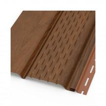 Trójnik rury spustowej 90/90/90 67 stopni Rynna 100mm 125mm PVC Gamrat kolor ciemny brąz