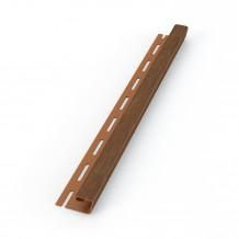 Rozgałęziacz do rury spustowej 90mm/90mm/90mm brąz Gamrat