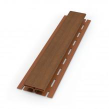 Trójnik rury spustowej 110/110/110 67 stopni Rynna 125mm 150mm PVC Gamrat kolor ciemny brąz