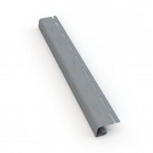 Plastikowa rura 90 mm Gamrat w kolorze grafit i długości 3mb do rynny 100mm i 125mm