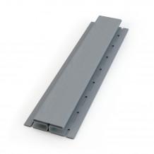 Plastikowa rura 90 mm Gamrat w kolorze grafit i długości 4mb do rynny 100mm i 125mm