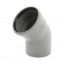 Lej spustowy 125/110 rynna PVC Gamrat kolor grafitowy RAL 7016