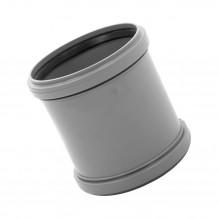 Narożnik wewnętrzny 125mm Rynna PVC Gamrat kolor grafitowy RAL 7016