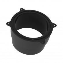 Denko rynnowe lewe 100mm Rynna PVC Gamrat kolor grafitowy RAL 7016