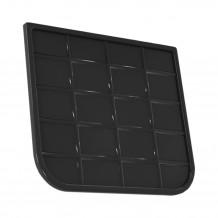 Plastikowa mufa do łączenia rur 110 w kolorze grafit rynna 125 150