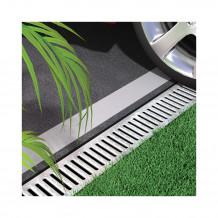 Plastikowe kolanko do łączenia rur 63 w kolorze grafitowym rynna gamrat 75