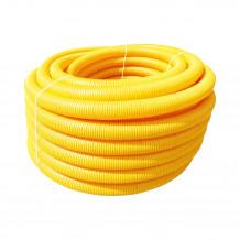 Plastikowe kolanko do łączenia rur 110 w kolorze grafitowym rynna gamrat 125 150